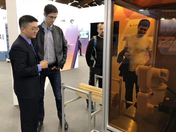 镭烁光电为中国一带一路项目添砖加瓦